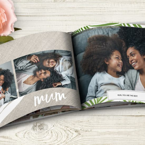 Create a photo book for Mum