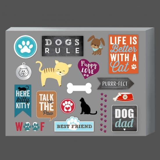 A selection of our pet embellishments